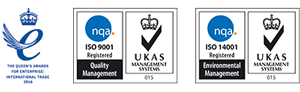 Queen's Award 2016 | ISO9001 | ISO14001