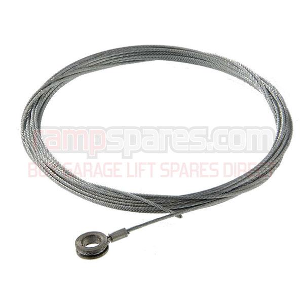 Bradbury lift safety cables