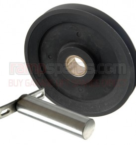 Garage lift pulley and pin set
